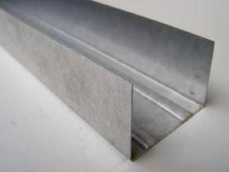Профиль для гипсокартонных систем UW 50 толщина стали 0,45 мм 4 м