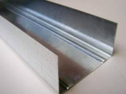 Профиль для гипсокартонных систем UW 75 толщина стали 0,45 мм