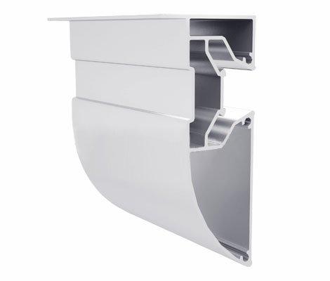 Фото  1 Алюминиевый профиль для натяжных потолков двухуровневый с подстветкой 207000