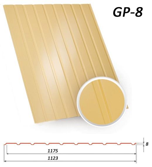 Профнастил ГП-12 полиестер (Словения) 0,45 мм от Битте