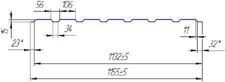 Профнастил H-15