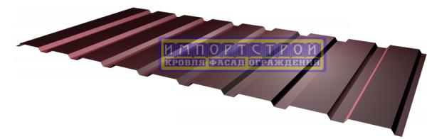 Профнастил Импортстрой для ограждения Н-20, 0,45мм полиестер. Скидки! 1100/1155