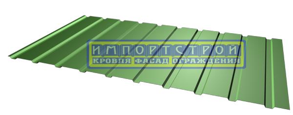 Профнастил Импортстрой для ограждения Н-8, 0,45мм полиестер. Скидки! Доставка по Украине.