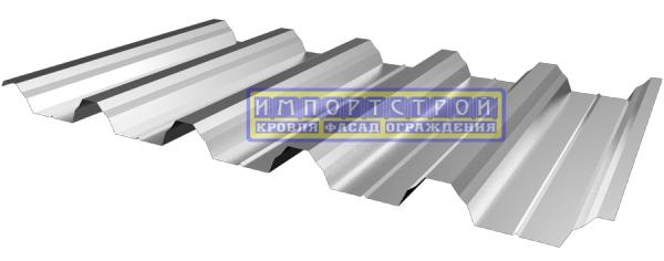 Профнастил Импортстрой кровельный ГП-35, 0,45мм цинк. 980/1080