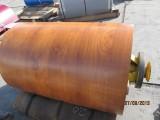Профнастил окрашенный в наличии RAL3005вишневый, RAL6005 зеленый, RAL8017 коричневый под заказ.