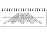 Профнастил ПК-60 оцинкованный (подробный прайс в описании)