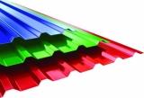 Профнастил ПК/ПС-35 с полимерным покрытием. Применяется для устройства кровли, заборов, фасадов, ограждений.