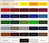 Профнастил ПС-20, ПК-20 Цветной матовый толщ.0.45мм