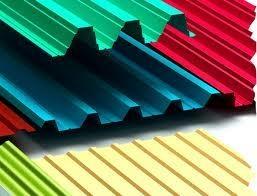 ПРОФНАСТИЛ С-10 (цветной, цинк) длинна листа от 0,5м. до 12м. , толщина металла от 0,4 до 1,00мм.