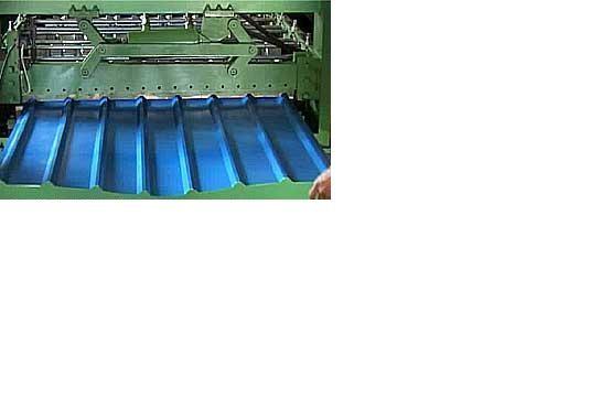 Профнастил с полимерным покрытием ПС 10, завод в районе М ВЫДУБИЧИ