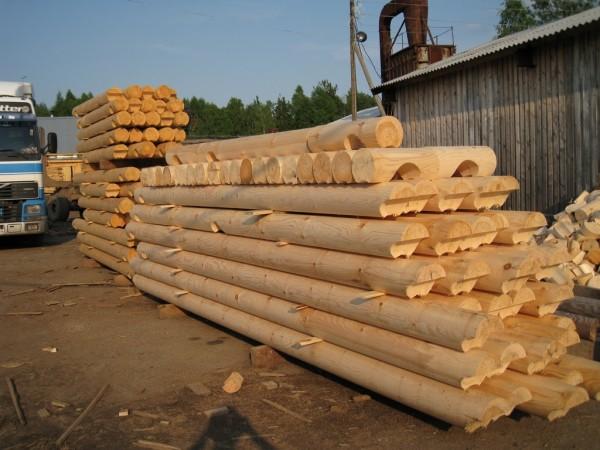 производство и монтаж оцилиндрованного бревна от-1300грн. /м3. 066 165 41 74