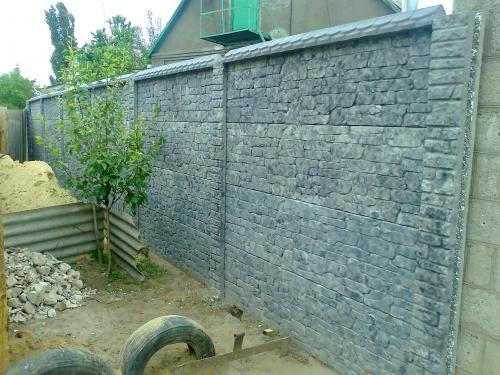 Производство и продажа декоративного бетонного ограждения.
