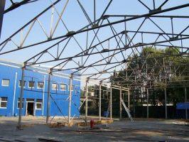 Производство металлических каркасов зданий. Доставка на Ваш объект, монтаж, земляные работы. Цена - за 1 кв.м. здания