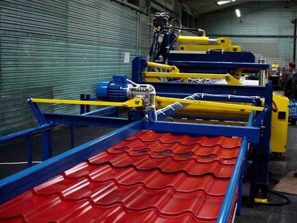 Производство металлочерепицы и всех доборных элементов