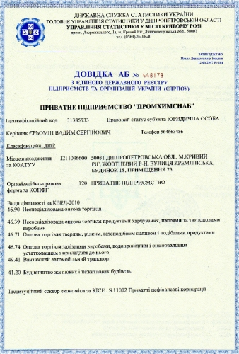 Промхимснаб, ЧП
