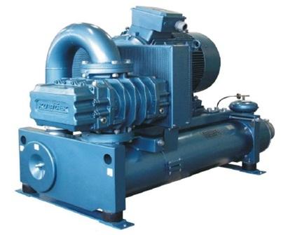 Промышленные воздуходувки 3D28 на избыточное давление от 10 до 100 kPa, и подачу от 1.16 до 7.82 m3/min.