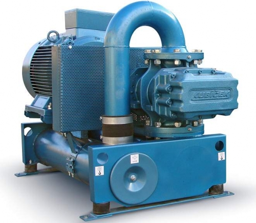 Промышленные воздуходувки 3D55 на избыточное давление от 10 до 100 kPa, и подачу от 11.9 до 53.2 m3/min.