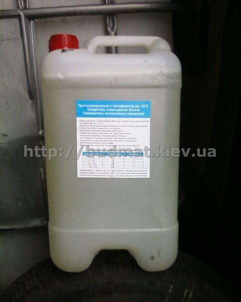 Противоморозная добавка в бетон и растворы