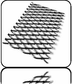 Просічно-витяжна сітка