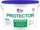 Фото  1 Латексная моющаяся краска Protector Interior FT PRO, 10 л 293948