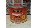 Протекс жаростойкая + 500 эмаль черная (0,4 кг)