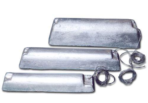 Протекторы магниевые ПМ-5У, протекторы ПМ-10У, протекторы ПМ-20У предназначены для защиты от коррозии сооружений.