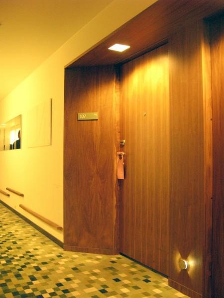 Противопожарные деревянные двери ЕІ-30 (акустические )