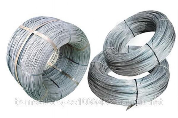 Проволока н/ж 2,0 мм AISI 304 сталь 04Х18Н9