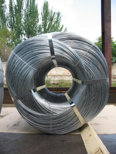 Проволока оцинкованная твердая с пределом прочности 560-800Н/мм2, ГОСТ 3282-74, Ф 2,0мм