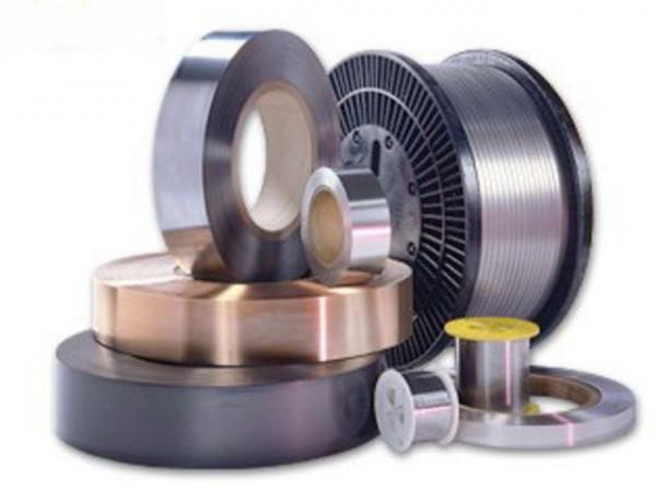 Проволока титановая сталь ВТ20-2св размер 0,009ф1,6 мм