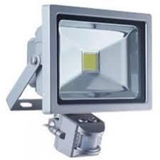 Прожектор 20W со встроенным датчиком движения