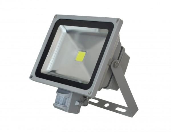 Прожектор светодиодный с датчиком движения LFS-30 (Холодный белый 5500-6500K)