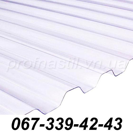 ШИФЕР ПЛАСТИКОВЫЙ ТИП - ТРАПЕЦИЯ БРОНЗА (Salux W 70/18 мм, 2*0.9 м)