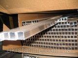 Фото  1 Прямоугольная алюминиевая труба марка АД31т (6063) 2175465