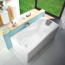 Прямоугольная ванна Ravak XXL размером 1900x950 мм элегантный вариант классической ванны.