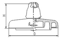 ПСВ-120б Изолятор