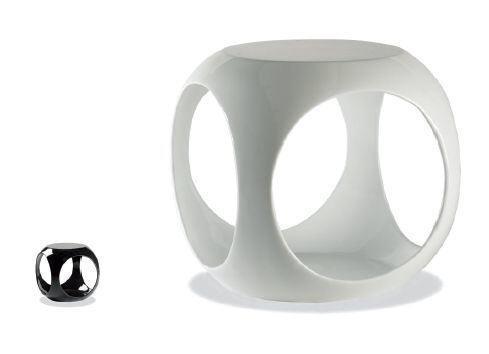 Пуф-столик Ронни, изготовлен из качественного пластика для кафе, бара, дома, офиса