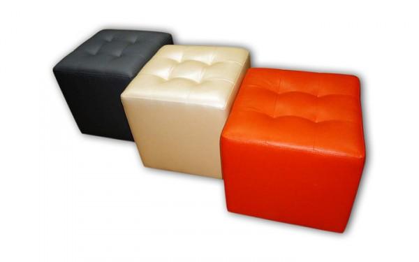 Пуфик Квадрат (Мягкая мебель для кафе, офиса, дома)