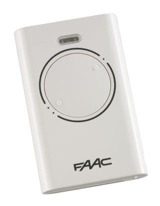 Пульт 2-канальный (белый) (FAAC) XT2 868SLH