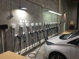 Фото  5 Зарядная станция для электромобилей Wallbox Pulsar Type2 55kW 56A кабель 5м, черная 5863285