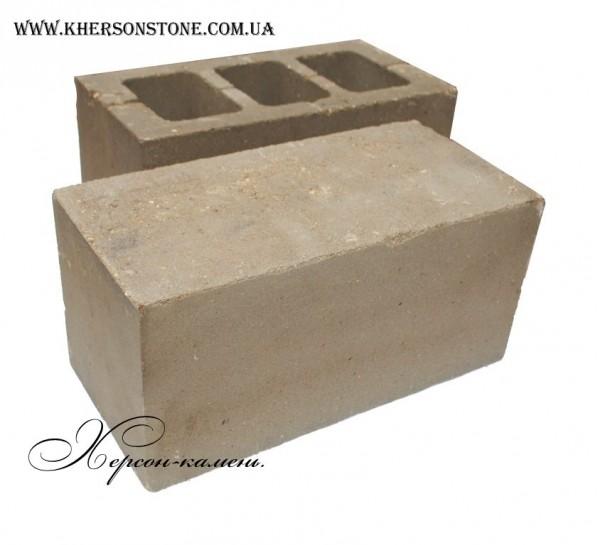 Пустотный, бетонный шлакоблок.