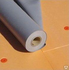 ПВХ мембрана Aqua100P 1.2 мм, армированная, з УФ, серая (1.6х20м)