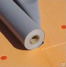 ПВХ мембрана Aqua100P 1.2 мм, армированная,  з УФ, серая (2х25м)