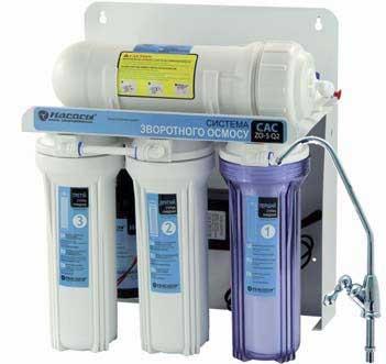 П'яти ступенева система очистки води серії CAC-ZO-5/Q2