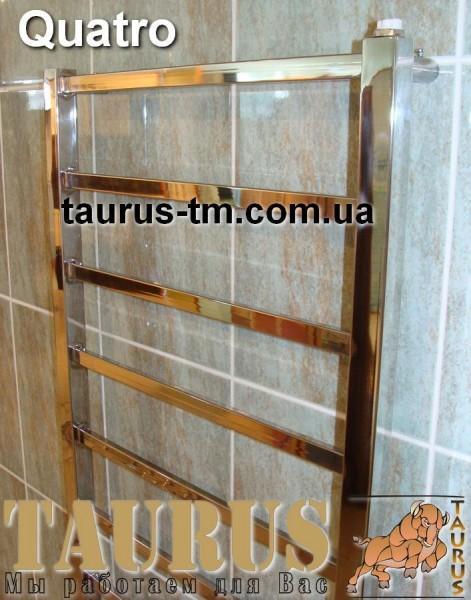 Quatro 12 / 500- полотенцесушитель для ванной комнаты. Подключение 3-х видов. Размеры под заказ.