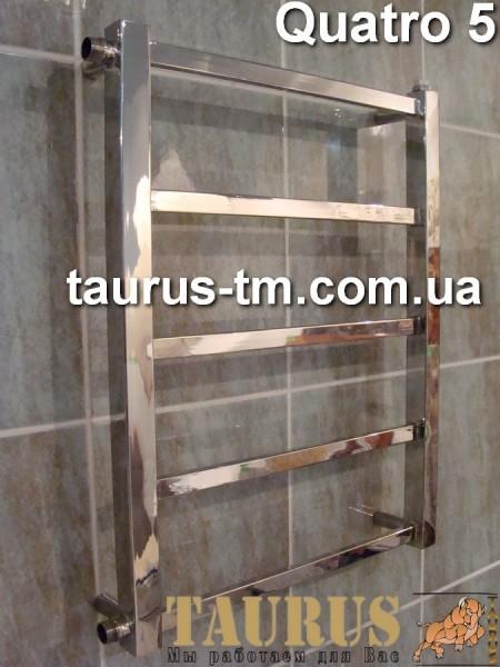 Quatro 5 / 500- полотенцесушитель изготовлен из нержавеющей стали. Доставка по Украине.