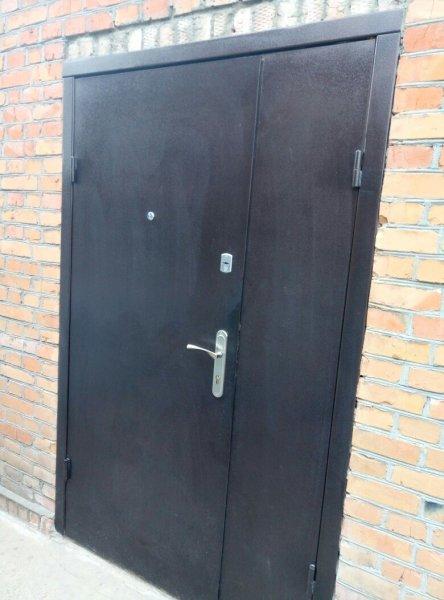 Фото 1 металическая дверь входна металл 2мм 336321
