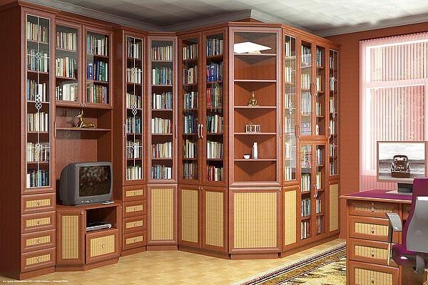 Рабочие места, кабинеты, библиотеки