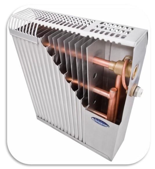 """Радиатор медно-алюминиевый водяного отопления """"REGULLUS"""" - не ржавеют, как стальные,"""