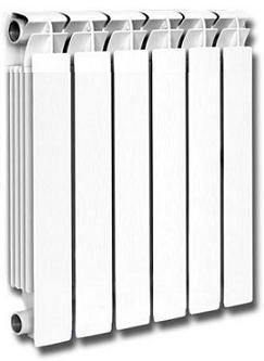 Радиатор отопления алюминиевый OCEAN 500*70
